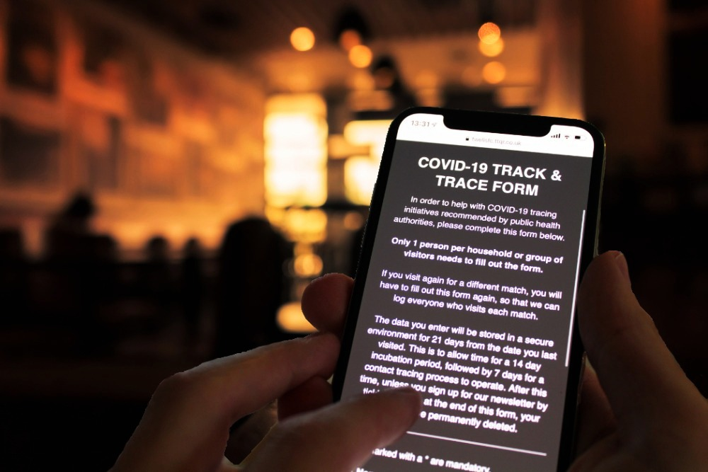COVID-19 Track & Trace System Form